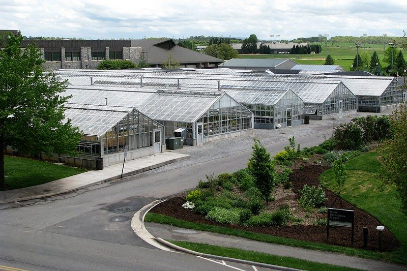 Greenhouses at Virginia Tech